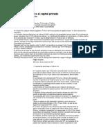 Apertura de Pemex Al Capital Privado