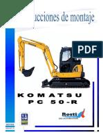 Manual de Montaje ROSTI Komatsu PC 50-R