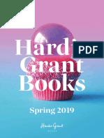 Spring 2019 Hardie Grant Catalog