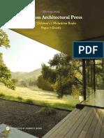 Spring 2019 Princeton Architectural Press