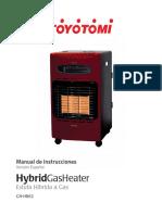 Gh Hb62 Estufa Hibrida Gas