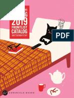 Spring 2019 Chronicle Books Frontlist