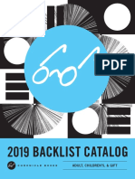 2019 Chronicle Books Complete Backlist