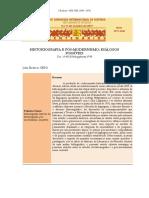 Historiografia e Pos-modernismo Dialogos (1)