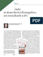 Cottier, Georges, Una Mirada Al Jesús de Los Evangelio, Un Escucharle a Él