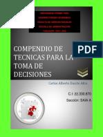 Revista Compendio de Técnicas Para La Toma de Decisiones