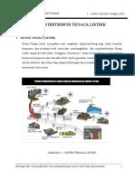 1. Sistem Distribusi Tenaga Listrik (PLN )