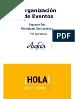 1 Clase Organizacion de Eventos