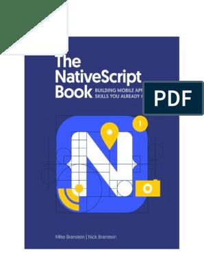 thenativescriptbookv2-0 pdf | Cross Platform | Ios