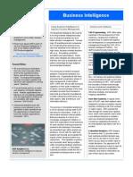 Asr Fact Sheet Business Intelligence
