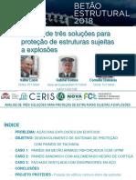 Proteção de Estruturas Sujeitas a Explosões_BE2018 VL
