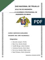 Informe Servicios Auxiliares
