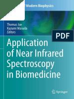 Application of Near Infrared Spectroscopy in Biomedicine