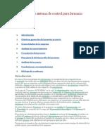 Elaboración de Sistema de Control Para Farmacia Alofarma