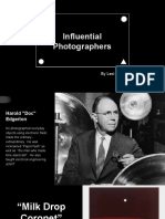 influential photographers justus