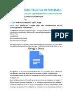 Google Drive y Microsoft