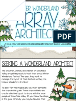 winter wonderland array architects -  digital copy for students