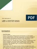 Lbm 1 Dokter Siaga
