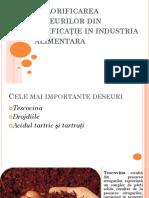 Valorificarea deşeurilor din vinificaţie in industria alimentara