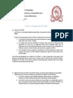 Guia 1 para Sistemas Digitales de la UES