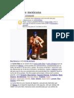 Lucha libre mexicana.docx