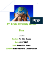 2nd grade diversity lesson plan