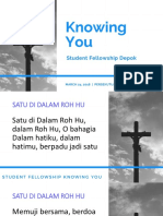 Stufell 24 Maret 2018 - Knowing You.pptx