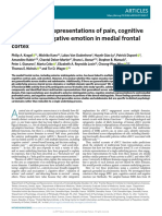 Generalizable Representations of Pain, Cognitive Control, And Negative Emotion in Medial Frontal Cortex