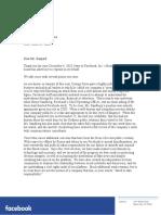 Patrick Gespard Letter