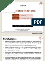 CFK le ganaría en una balotaje a Macri