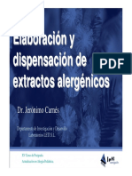 Extractos alergénicos