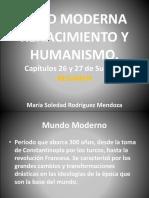 Resumen Edad Moderna Renacimiento y Humanismo