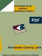 Antologa de La Poesa Colombiana Tomo I