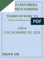 Lopez Castañeda Veronica Vanessa