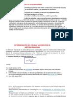 Determinacion de Caudales Maximo Metodo Regional