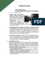 HIDRÁULICA FLUVIAL Introducción y Movilidad Fluvial