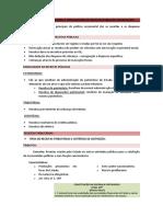 RESUMO. RECEITAS PÚBLICAS