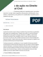 As Teorias Da Ação No Direito Processual Civil (Processo Civil) - Artigo Jurídico - DireitoNet