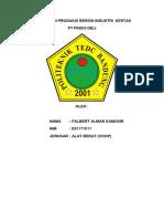 Penerapan Produksi Bersih Industri Kertas (1)