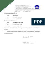 Surat Pernyataan Mutlak