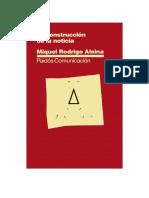 53008037 Rodrigo Alsina Miquel La Construccion de La Noticia PDF