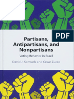 Partisans, Antipartisans, and Nonpartisans - Voting Behavior in Brazil