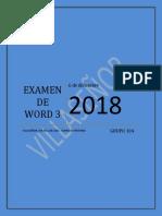 Villaseñor Cortes Luis Joss Examen de Word 3
