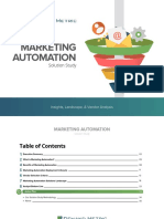 Marketing Automation Solution Study