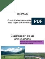 IX. Biomas