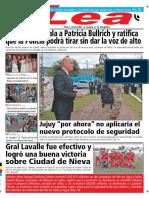 Periódico Lea Jueves 06 de Diciembre Del 2018