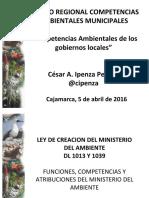 1 Competencias Ambientales Municipales