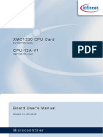 Board Users Manual XMC1200 CPU Card R1