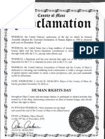 human rights day proc