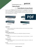 BDCOM1700 Series - Cost Effective Access Router